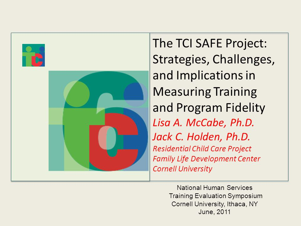 The Tci Safe Project Strategies Challenges And Implications In