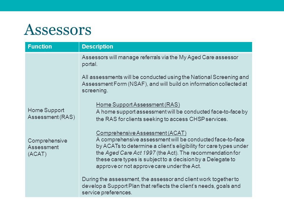 My Aged Care changes in 2015 March / April ppt download
