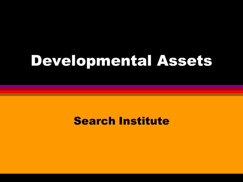 Developmental Assets Search Institute