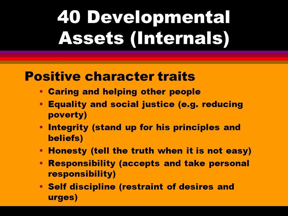 40 Developmental Assets (Internals)