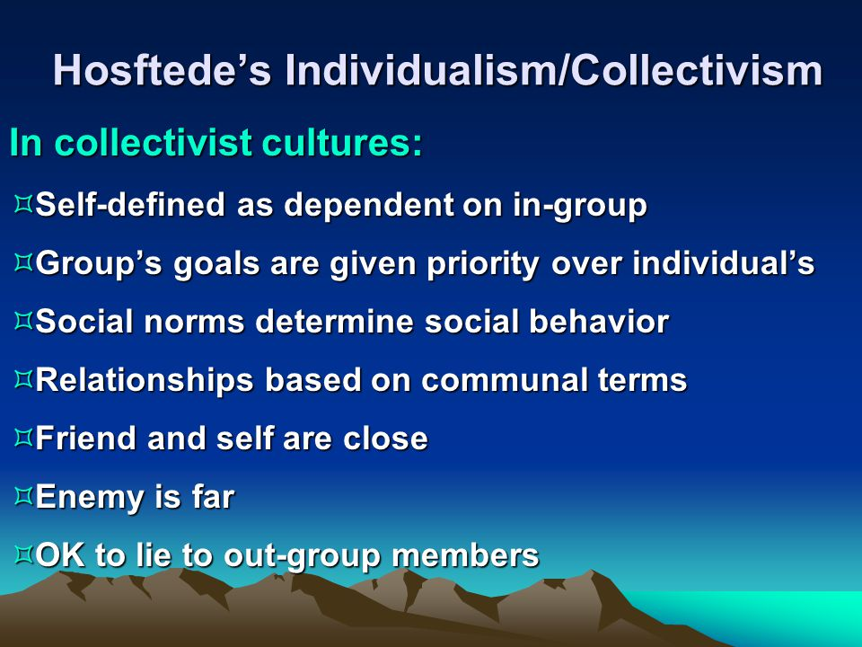 priming the individual or collective self Collective self-defense: a report of the yale law school center for global legal challenges aadhithi padmanabhan & michael shih1 december 10, 2012 executive summary collective self-defense is an express exception to the un charter's prohibition on the.