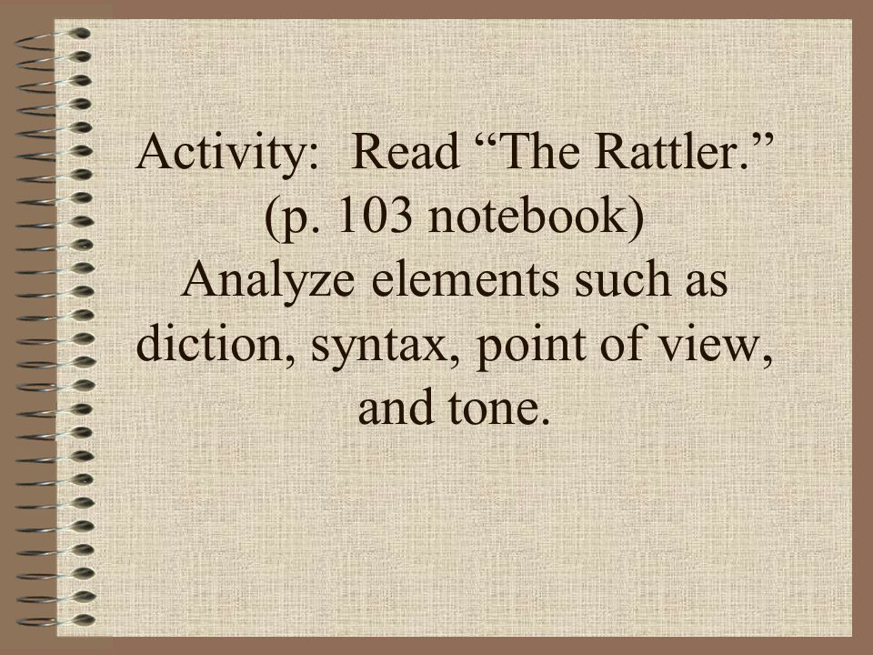 literacy analysis of the rattler Rattler fight song sharyland high school » about us » rattler fight song  rattler fight song sharyland high school 1216 n shary rd, mission, tx  78572.