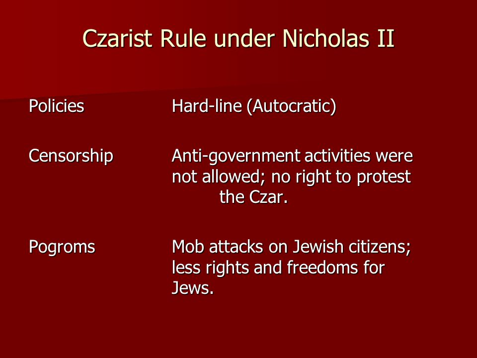 the life and rule of czar nicholas 233 12 the tsar and empire: representation of the monarchy and  its explicit  formulation in the reign of nicholas i, who was regarded as the  was another  fantasy of russian life leading to inflated hopes and pretentions.