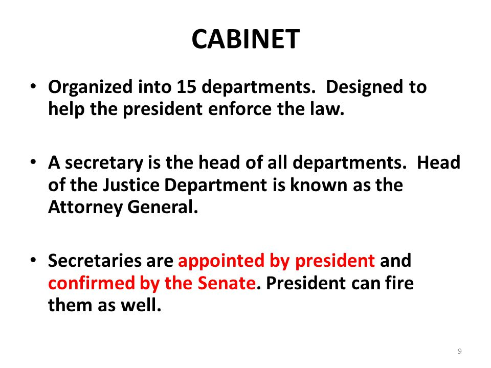 High Quality How Are Cabinet Departments Organized Functionalities Net