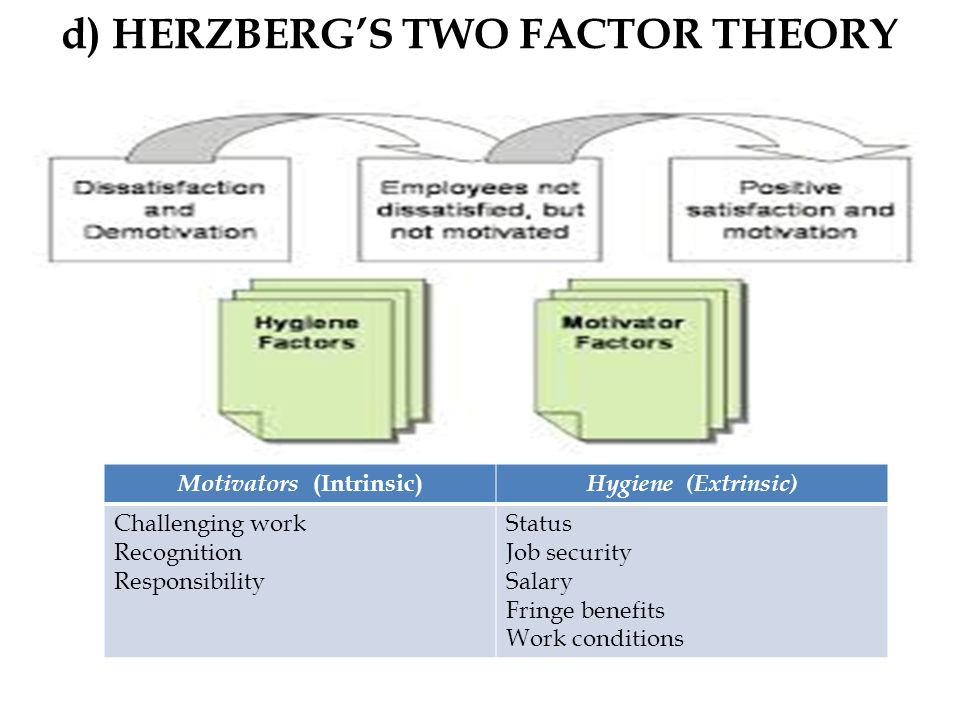 frederick herzberg essay Frederick herzberg (1923-2000), clinical psychologist and pioneer of 'job enrichment', is regarded as one of the great original thinkers in management and.