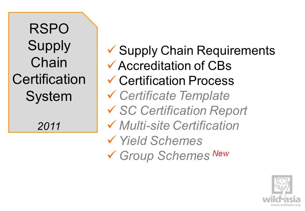 overview rspo supply chain certification system ppt video online download. Black Bedroom Furniture Sets. Home Design Ideas