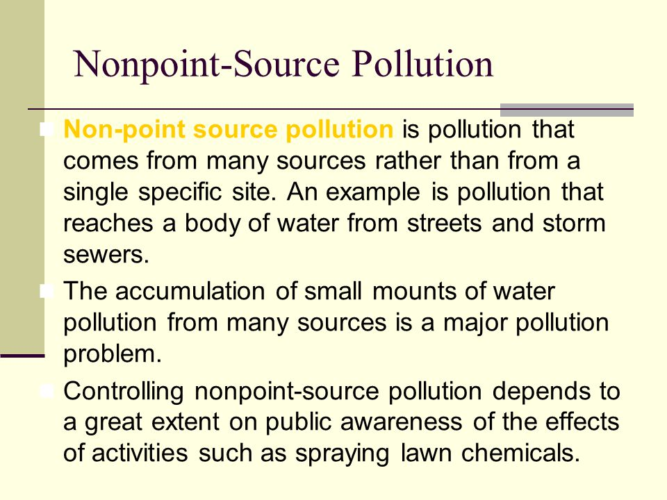 nonpoint source pollution wikipedia