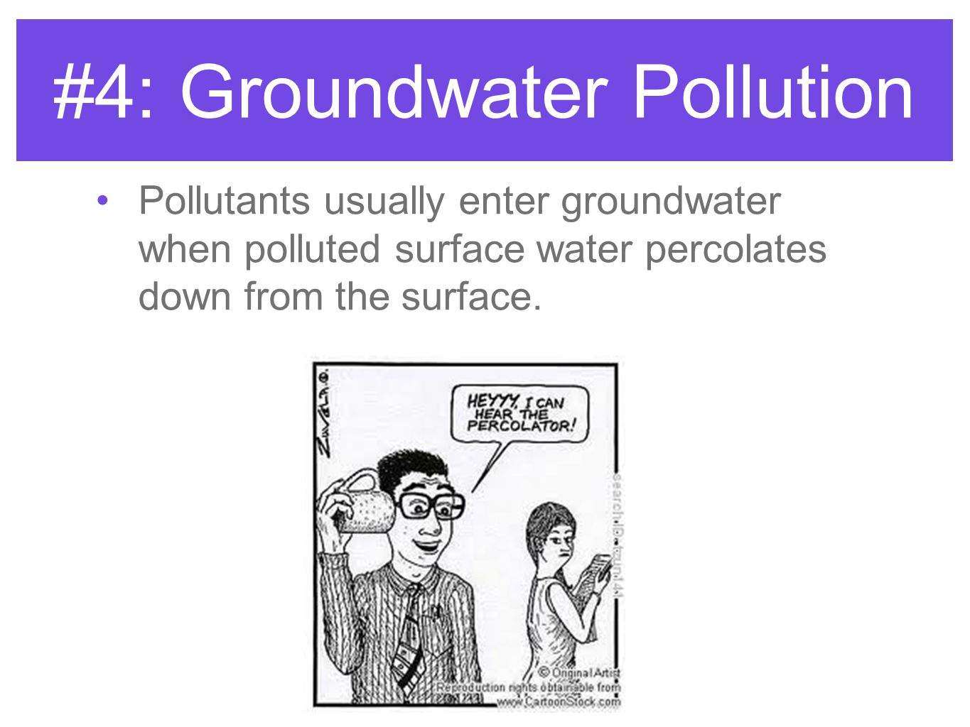 #4: Groundwater Pollution