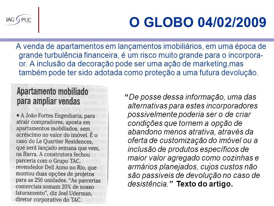 O GLOBO 04/02/2009