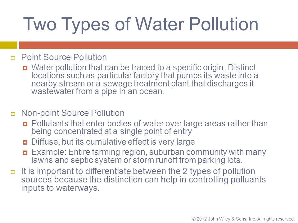 21 Water Pollution. - ppt download