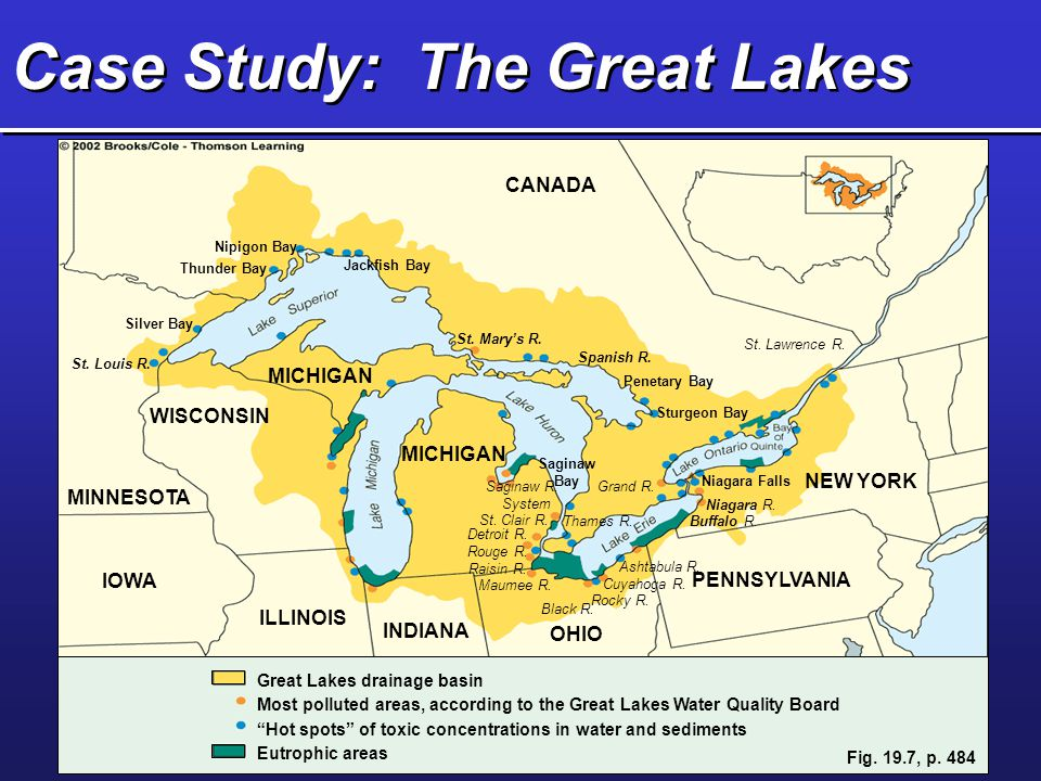 an analysis of the great lakes The great lakes form the largest surface freshwater system on earth the us and canada work together to restore and protect the environment in the great lakes basin top issues include contaminated sediments, water quality and invasive species.
