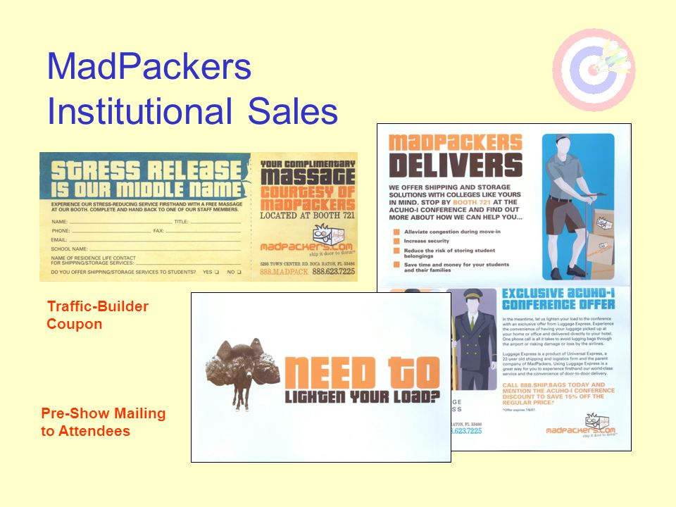 MadPackers Institutional Sales
