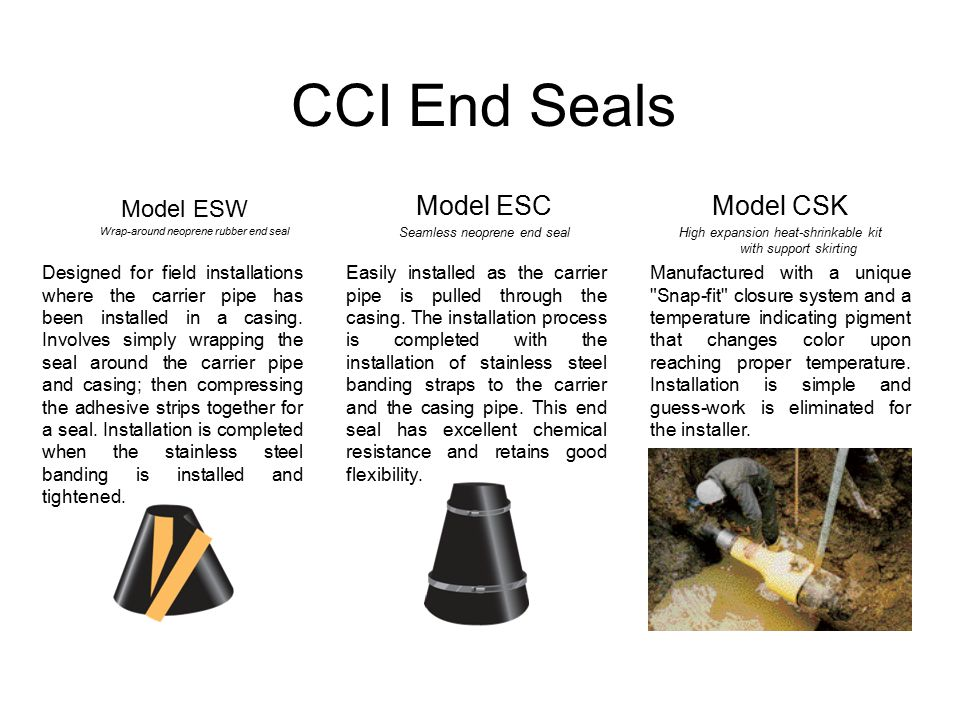 Casing Spacers Amp End Seals Ppt Video Online Download