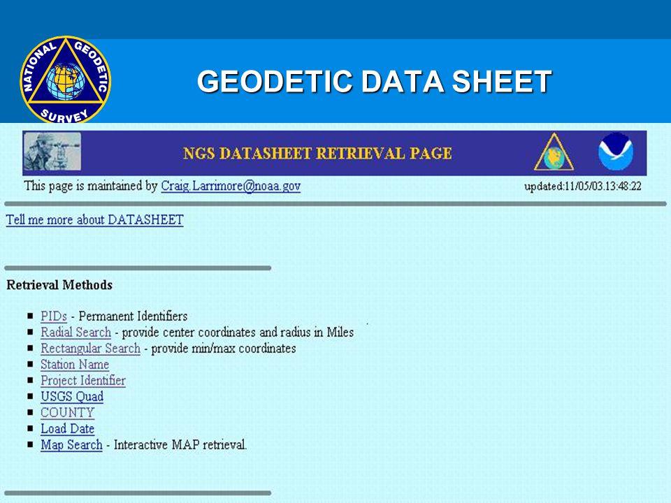 ACRONYMS US HPGN EGM HARN R ITRF GRS CORS NSRS NAVD Ppt - Us geodetic survey maps