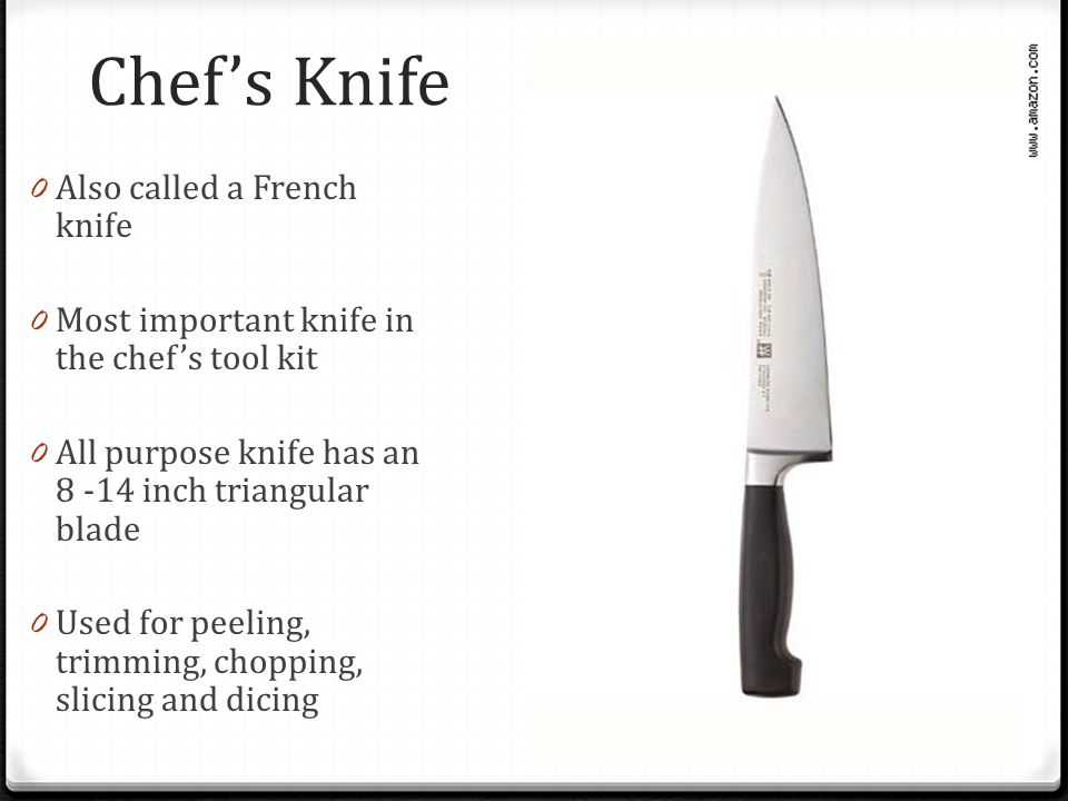 knives unit 3 knife skills ppt download. Black Bedroom Furniture Sets. Home Design Ideas