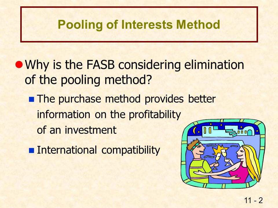 Pooling of Interests Method Stock Acquisition