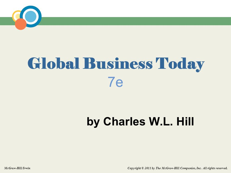 Global Business Today 7e