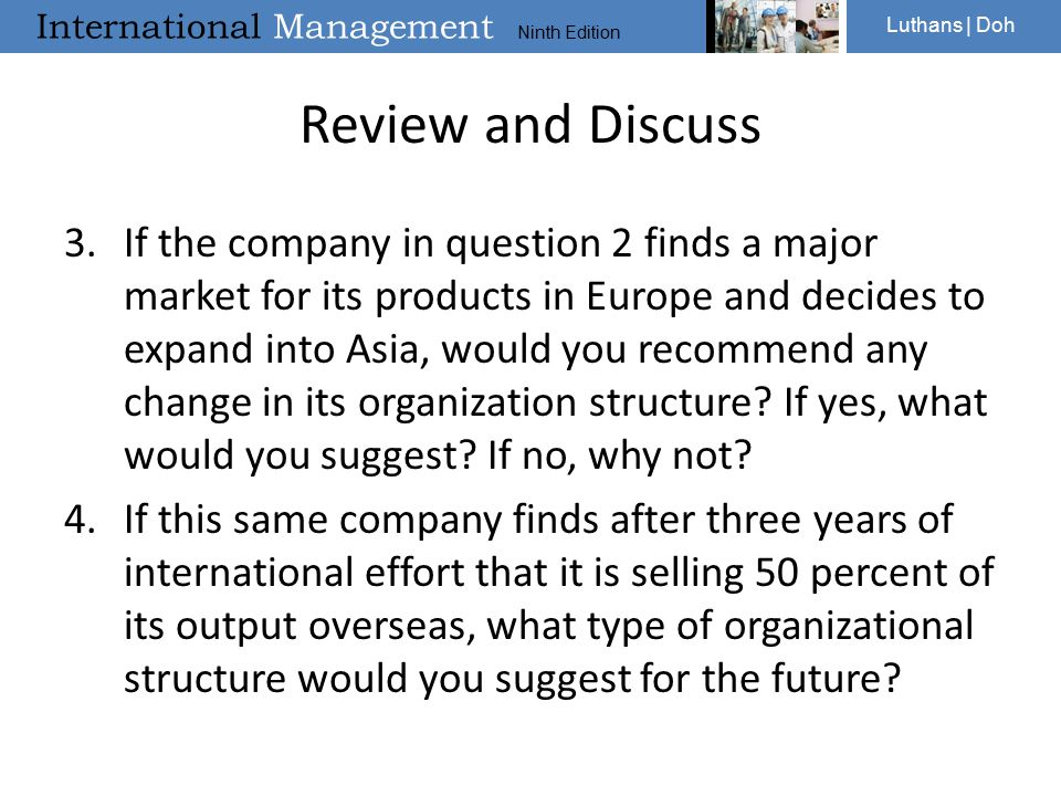 Entry Strategies And Organizational Structures Ppt Video