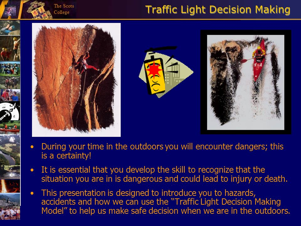 Traffic Light Decision Making