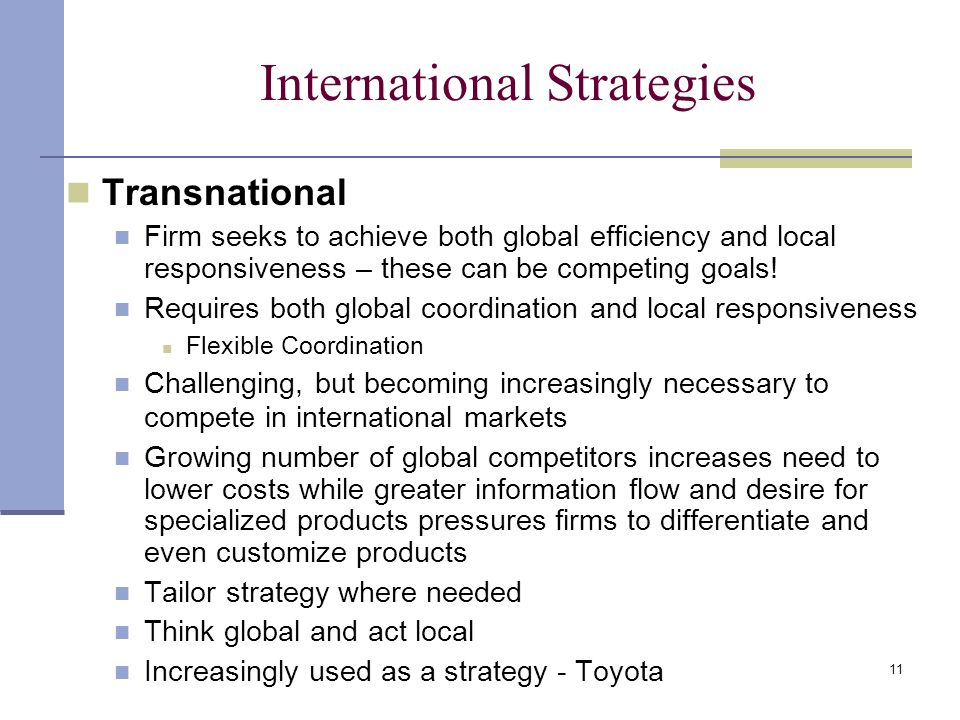 strategic compensation in an international setting In addition, the organization set a goal of annual growth in compensation, and employee strategic human resources management.