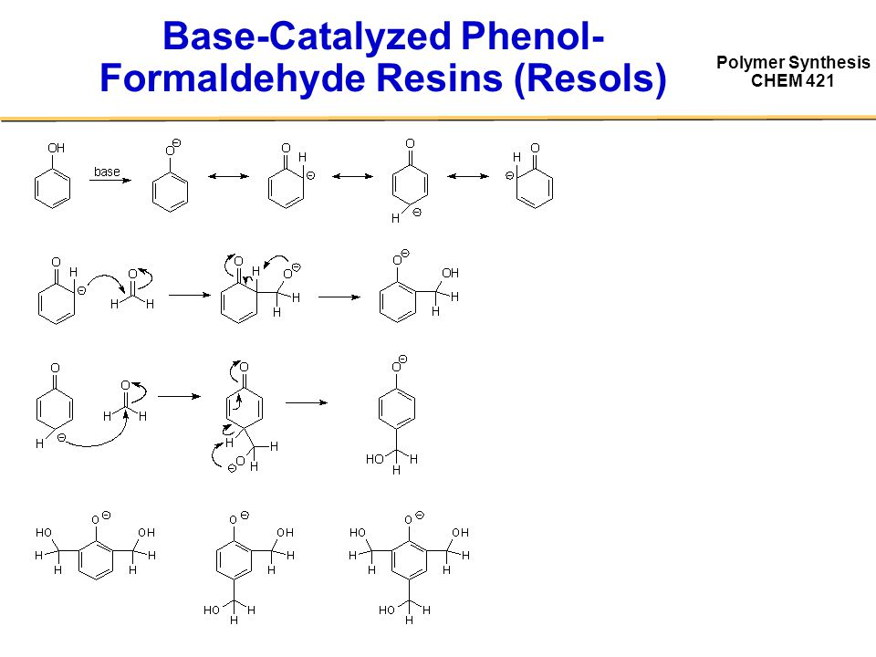 odian book ppt video online  20 base catalyzed phenol formaldehyde resins resols