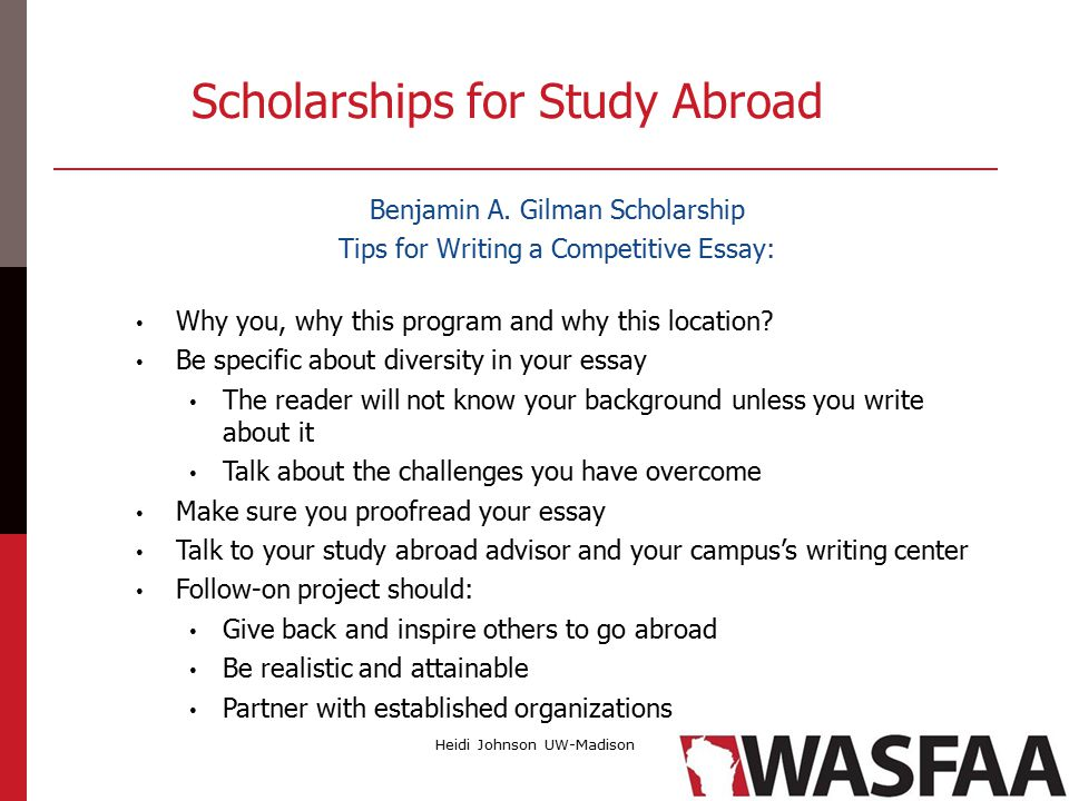 study abroad best practices in advising ppt  scholarships for study abroad