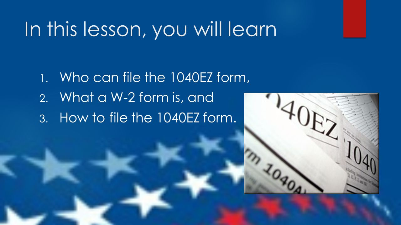 File Your IRS 1040ez for FREE*