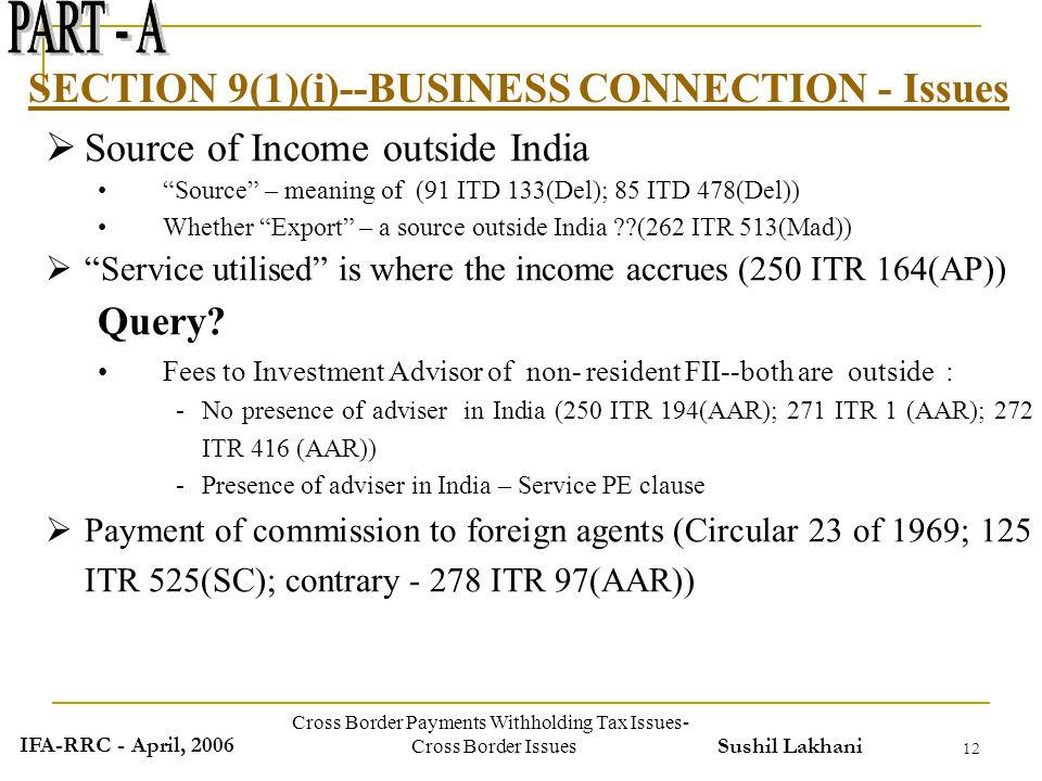 border tax in india