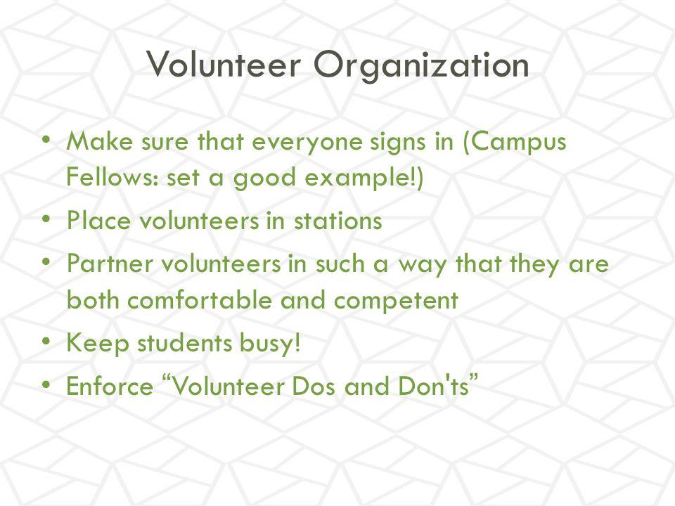 Volunteer Organization