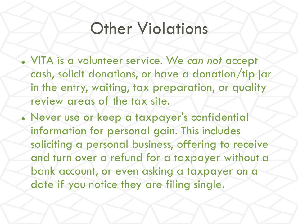 Other Violations