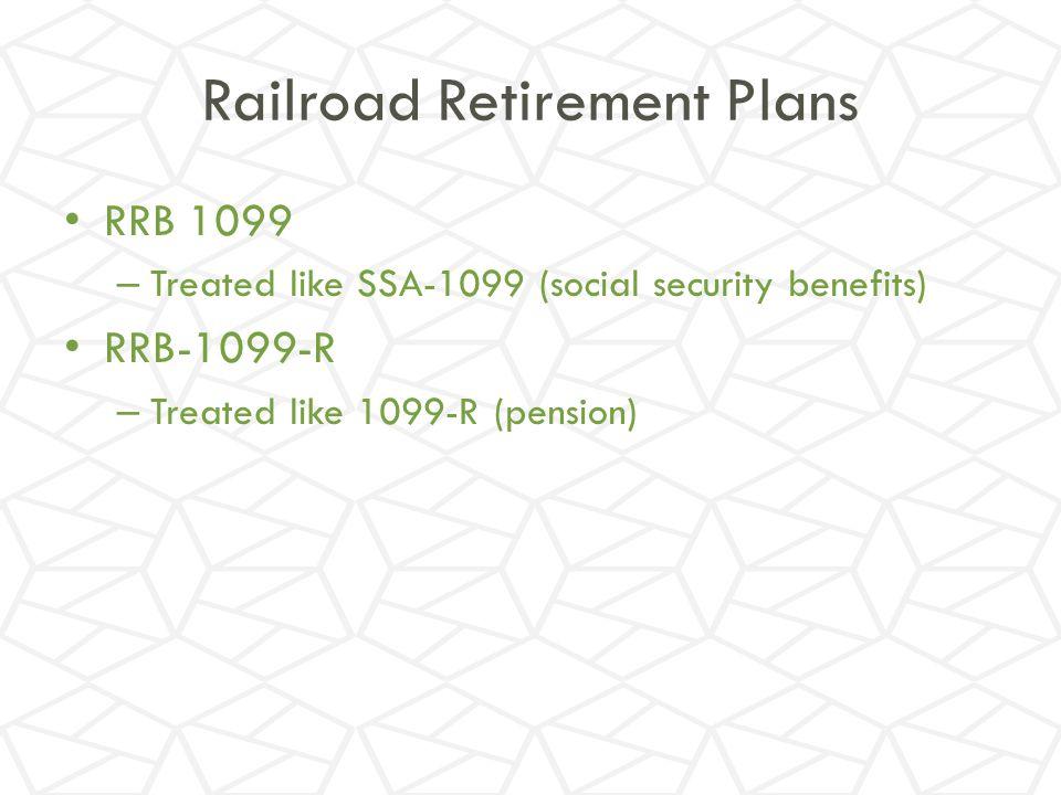 Railroad Retirement Plans