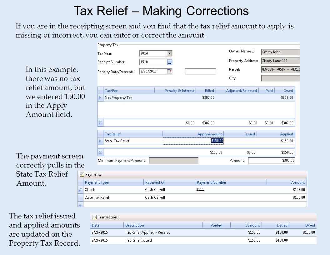 how to find property tax amount