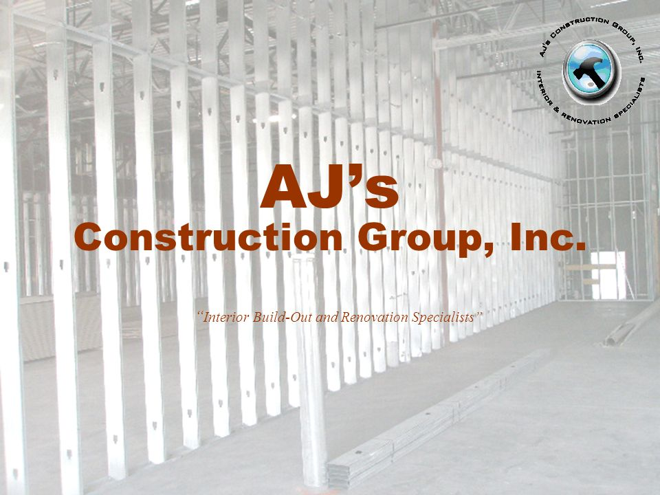 AJ's Construction Group, Inc.