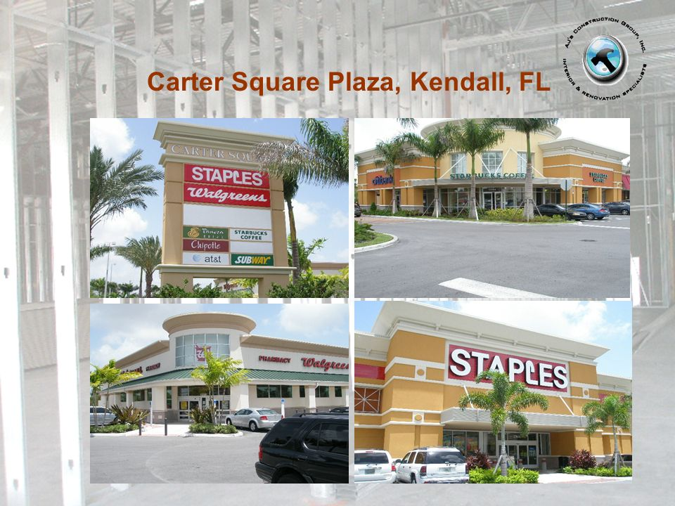 Carter Square Plaza, Kendall, FL