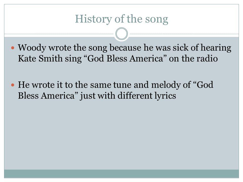 god bless america song pdf