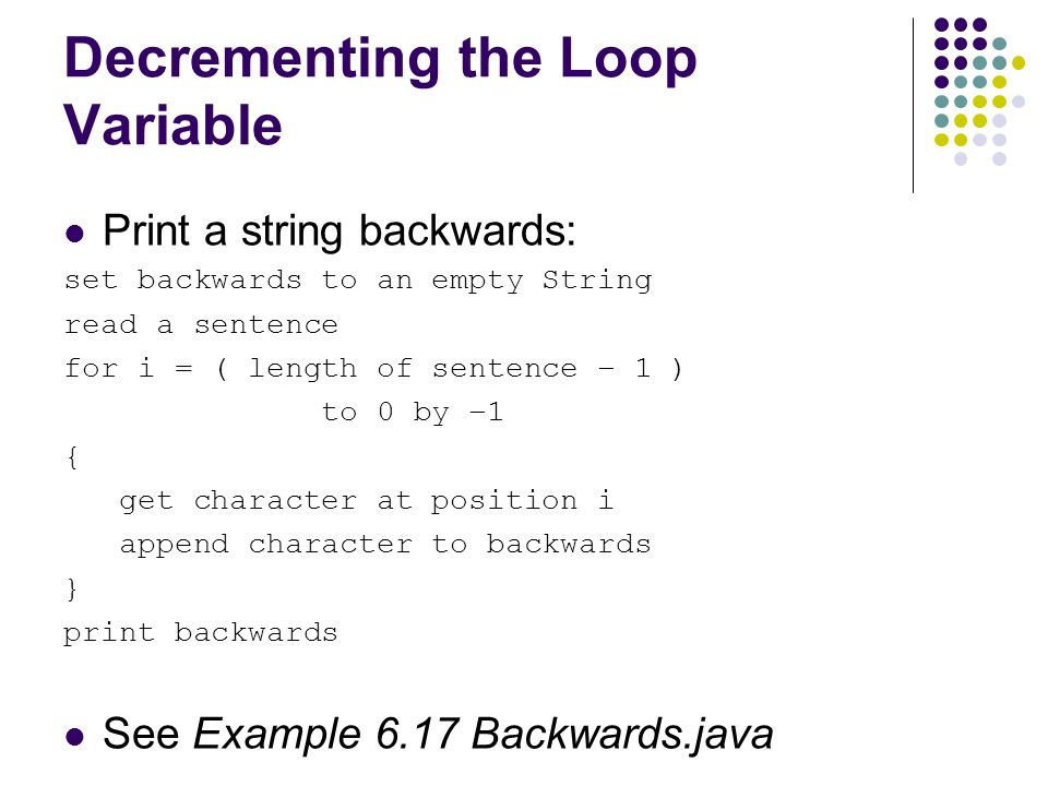 python how to read a string backward