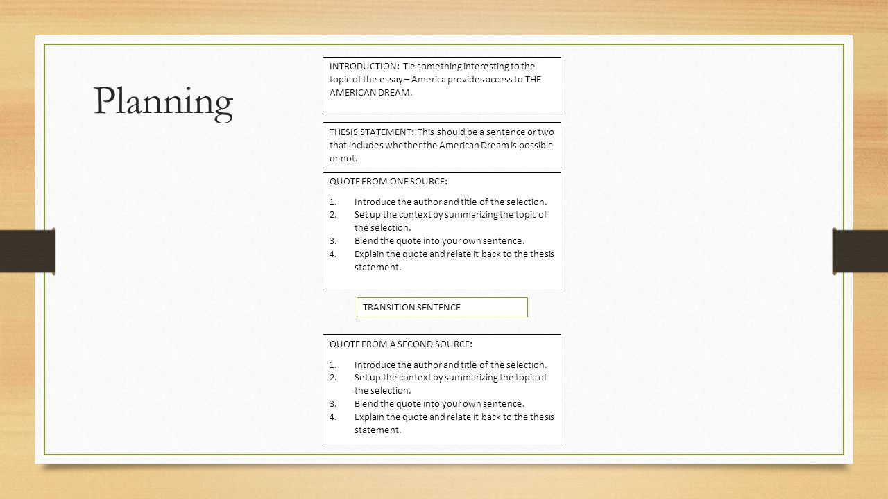 Lesson Ppt Video Online Download Planning Introduction Tie Something Interesting To The Topic Of The Essay   America Provides Access