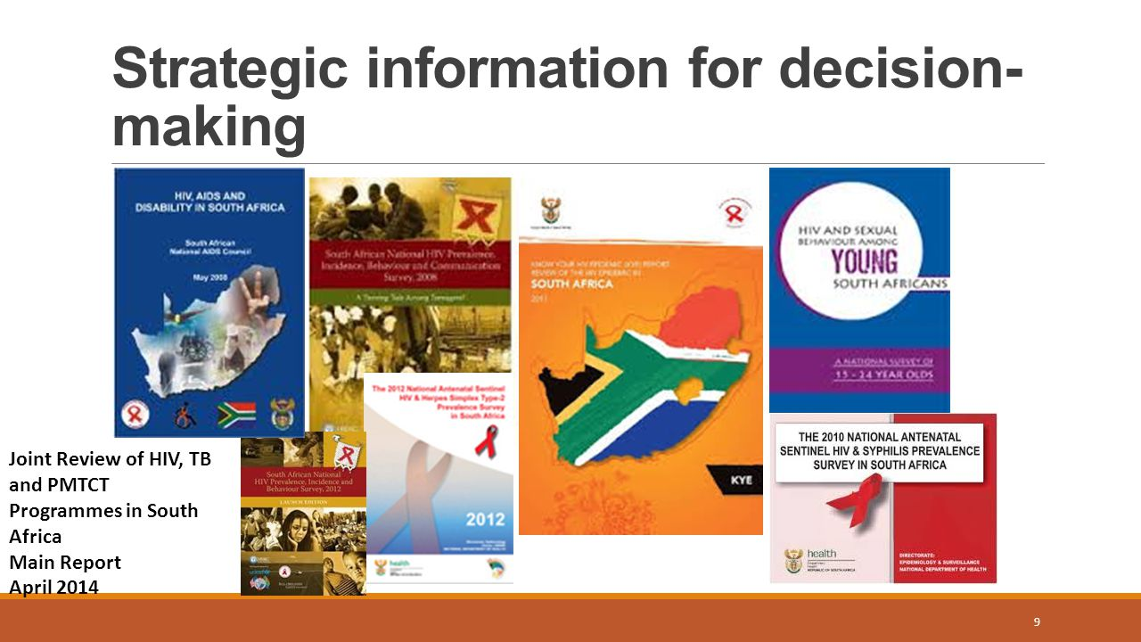 Strategic information for decision-making