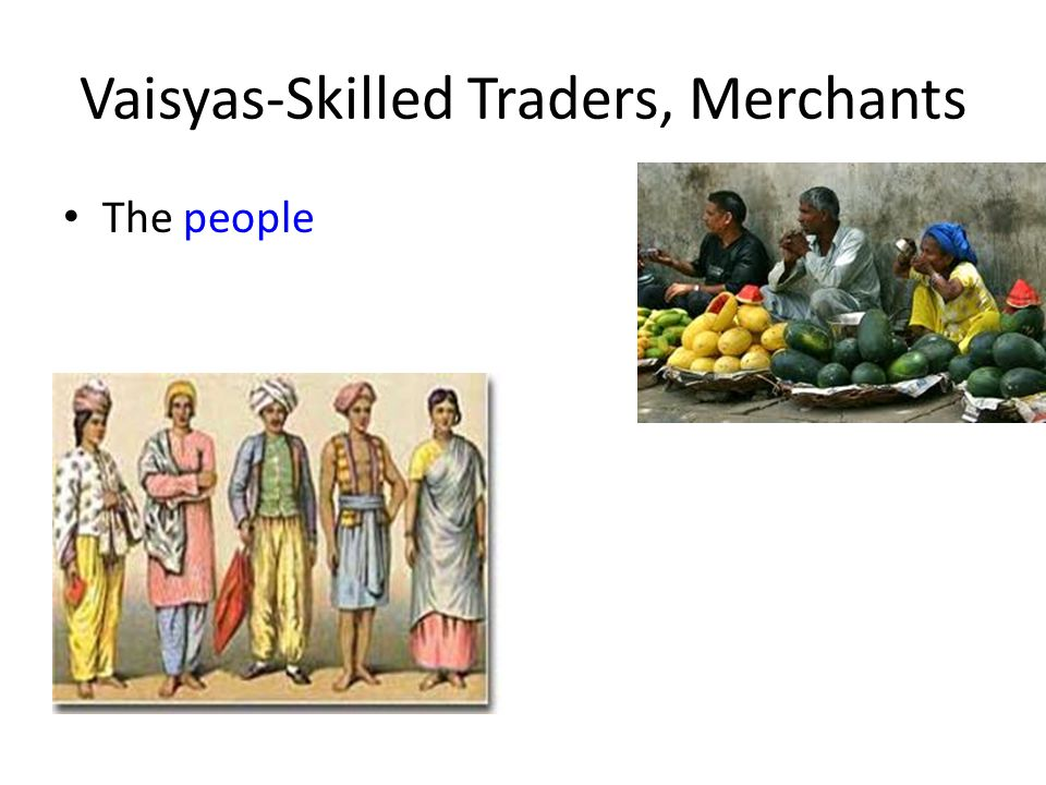 Vaisyas Social Structure in In...
