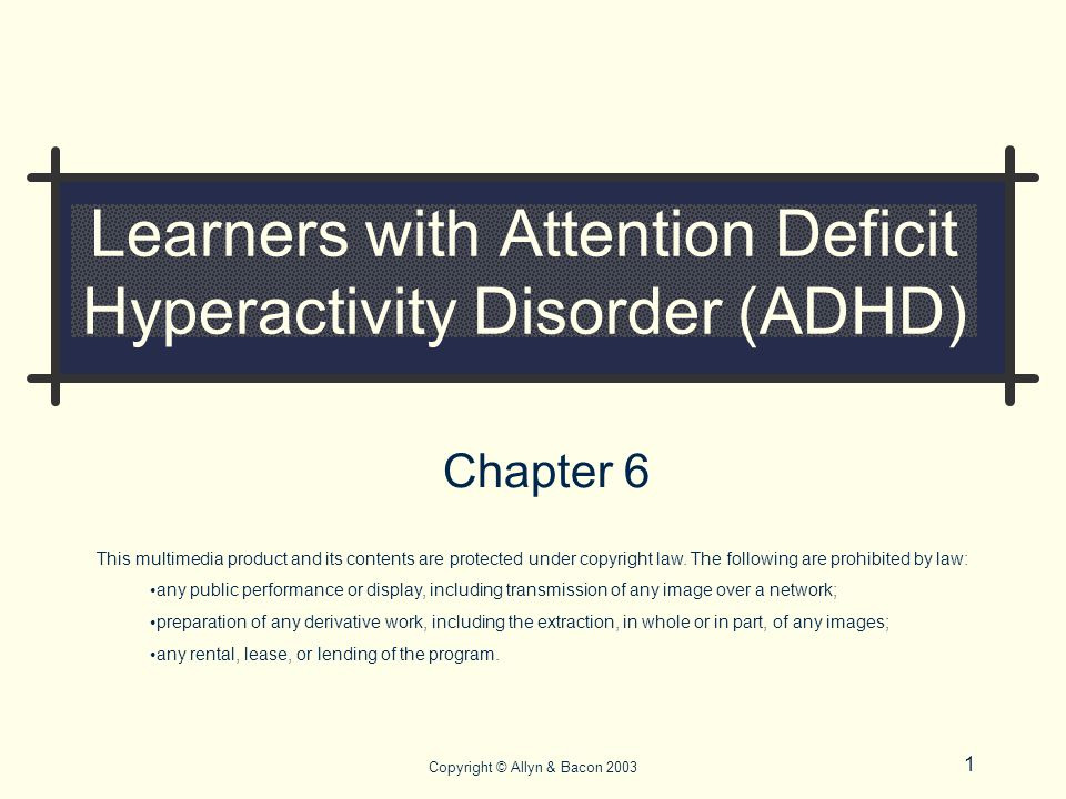 attention deficit hyperactivity disorder 1 introduction attention deficit hyperactivity disorder (adhd) is a prevalent and persistent psychiatric disorder that emerges early in childhood, with a current prevalence rate of 5 % in children 4–17-years old.