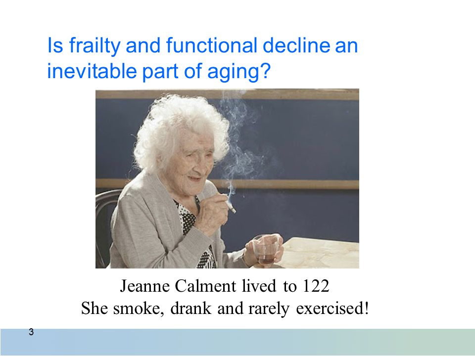 Mental decline inevitable with age