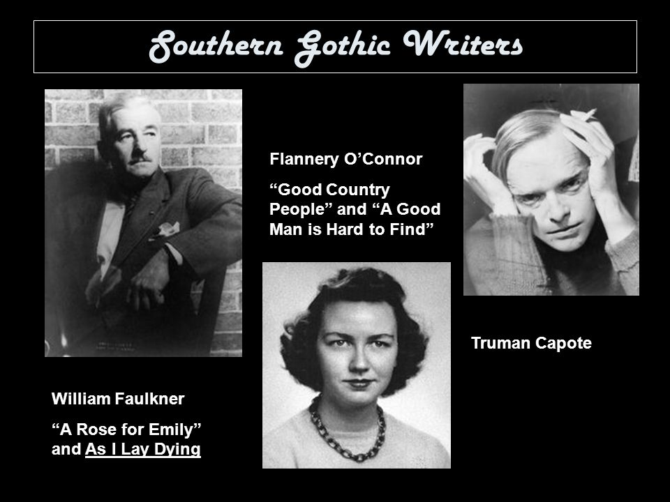 Freaks in southern gothic literature flannery oconnors good country people