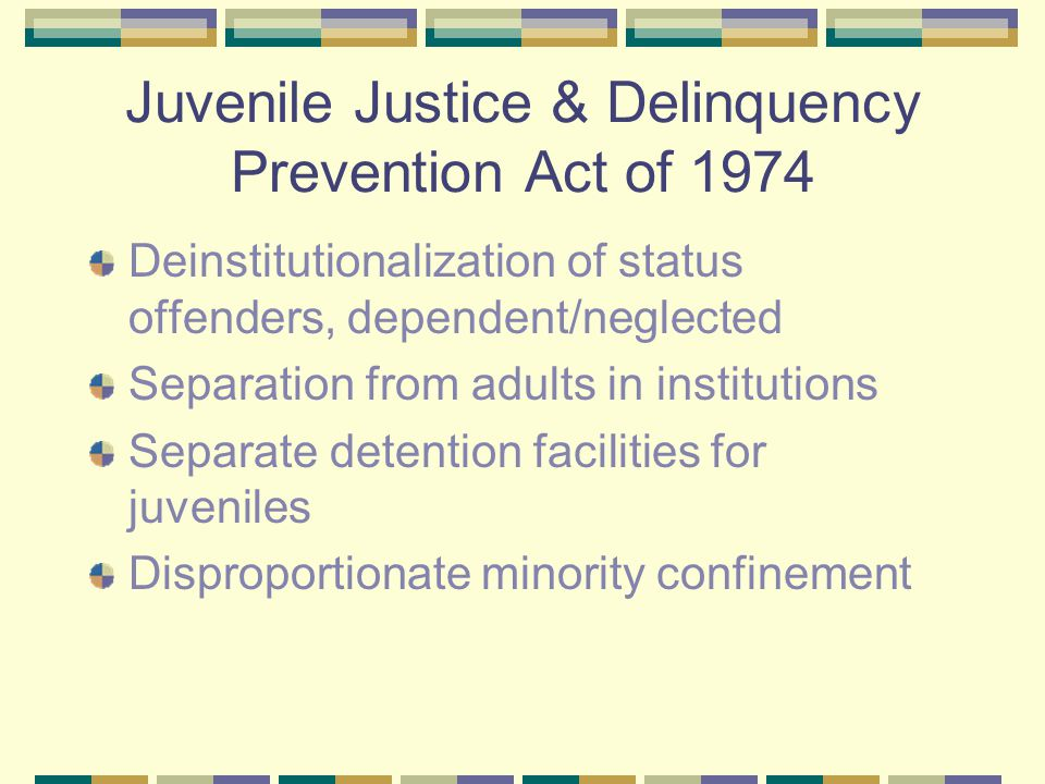 the necessity of separating juveniles and adults in the legal justice system Criminal law and procudure  separating a murder trial into  a statutory requirement that certain juveniles be treated as adults in the criminal justice system.
