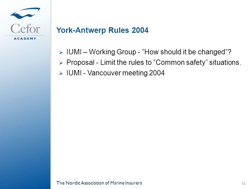 york antwerp rules ppt