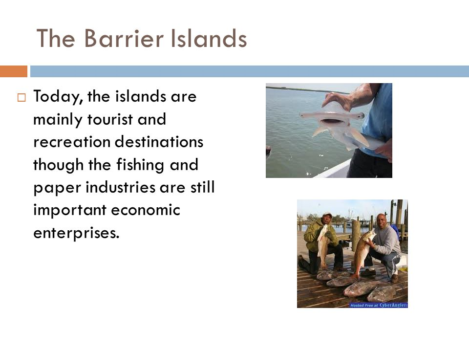barrier islands essay Barrier islands barrier islands, which are also known as barrier spits, are elongate, narrow islands of sand or sediment that lied parallel to the coastline and are separated from the mainland by a shallow sound, bay or lagoon.