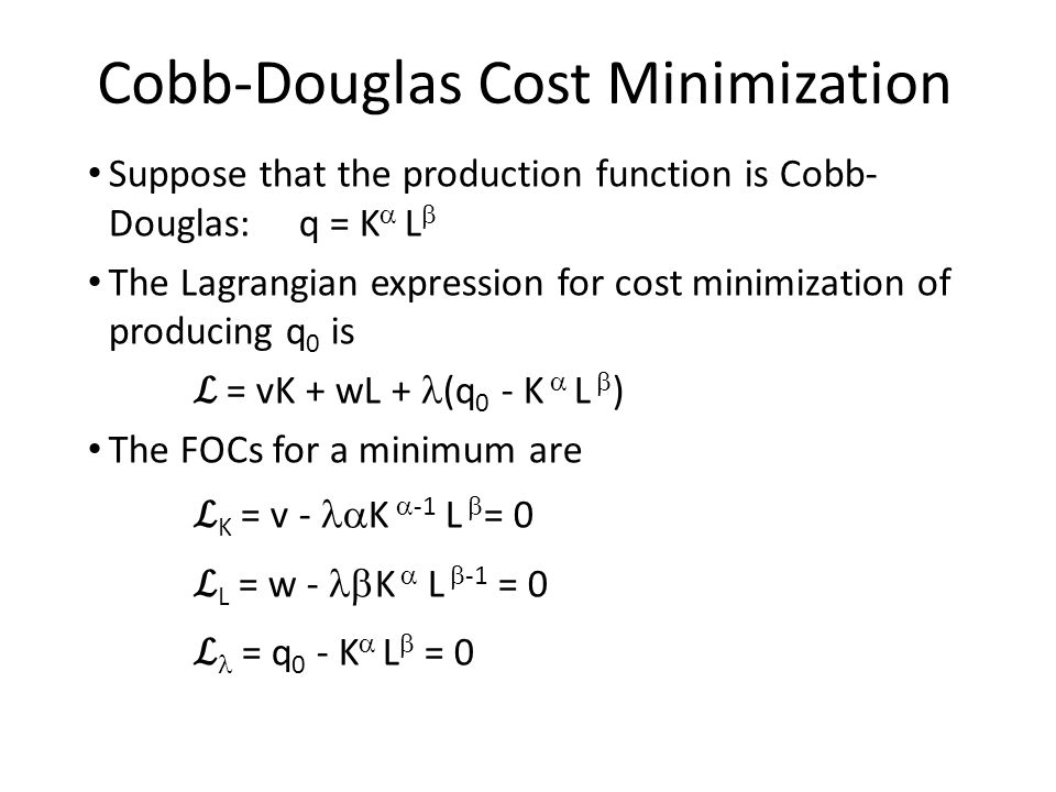 cost minimization Author: victor lima created date: 10/6/2001 2:18:47 am.