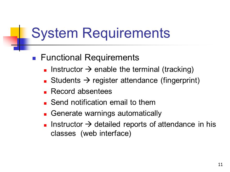 Class Attendance Tracking Database System Ppt Video