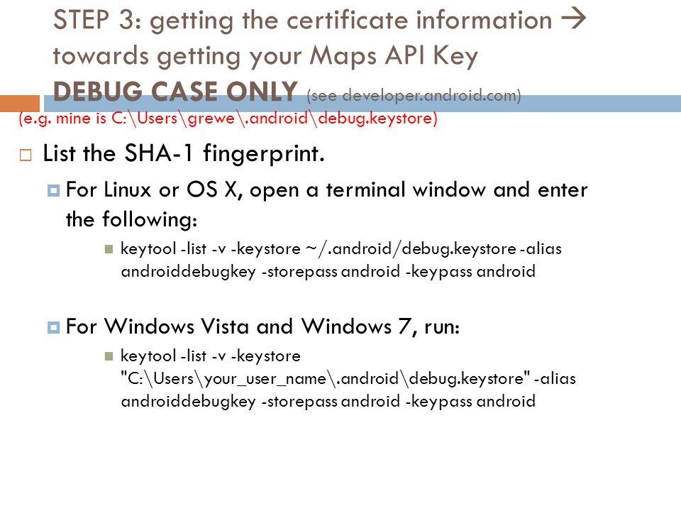 vista key case
