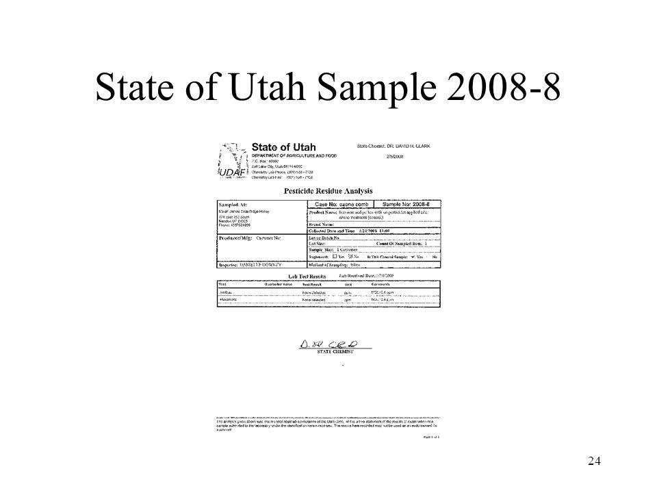 State of Utah Sample 2008-8