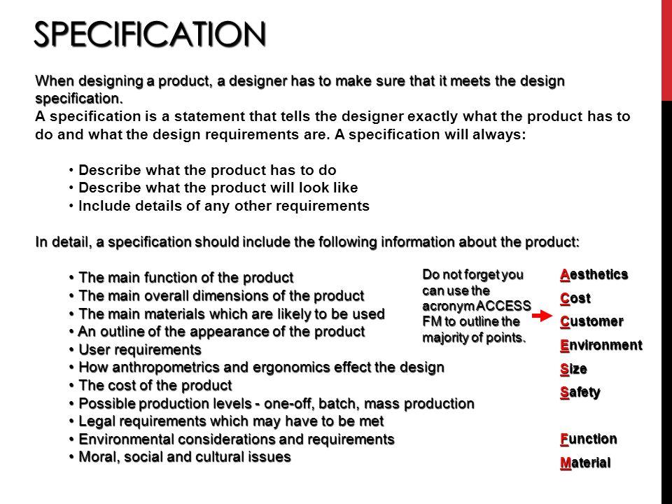 Describe Production Design